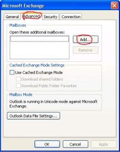 """Click """"Advanced"""", then """"Add""""."""