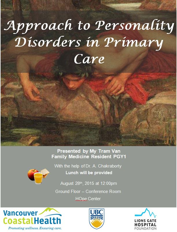 nursing management of personality disor  personality disorder : a discourse analysis with nurses wensink, lisa   clinicians who provide care for people with the diagnosis often have.