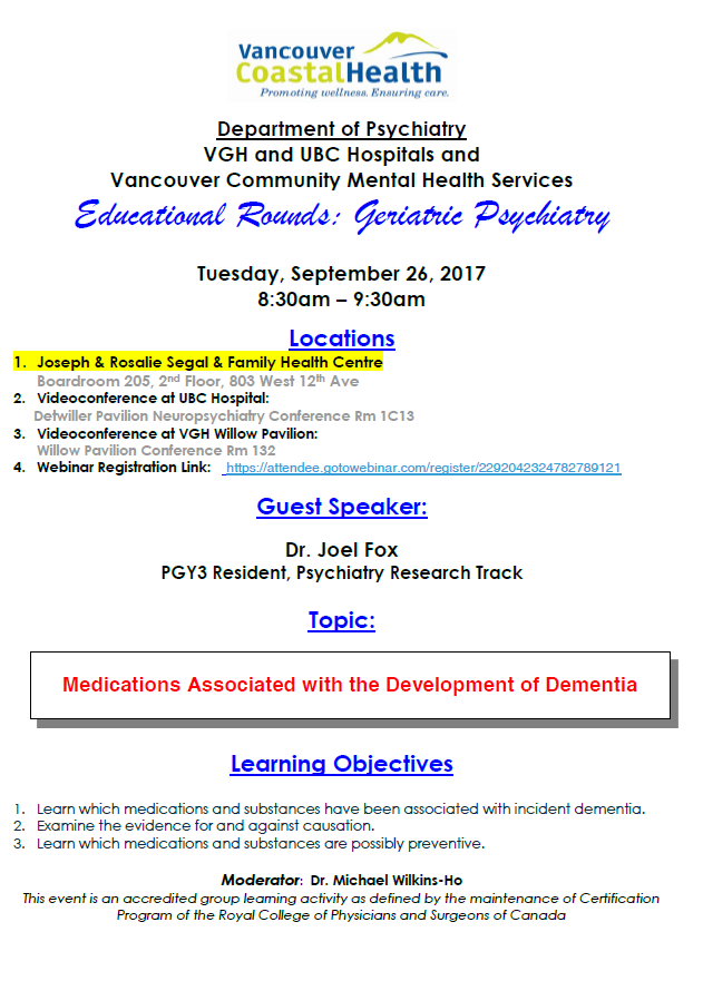 Page 4 geriatric psychiatry educational rounds september 26 2017 fandeluxe Gallery